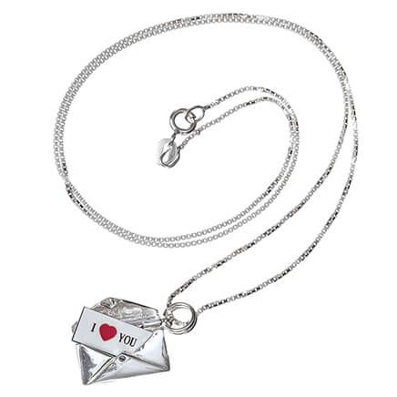 Personalized Love Letter Envelope Necklace-369364