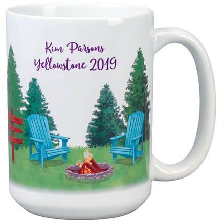 Personalized Happy Camper Mug-369375