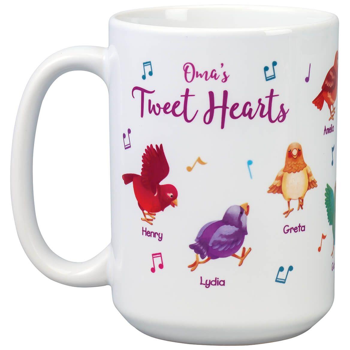 Personalized Tweet Hearts Mug-369376