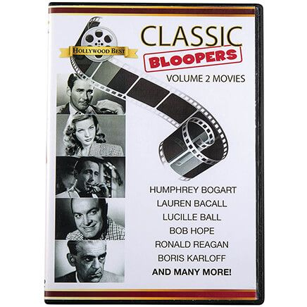 Classic Bloopers Volume 2 Movies DVD-369391