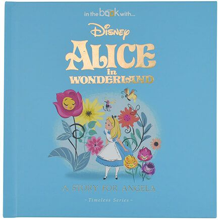 Personalized Timeless Alice In Wonderland Book-369418