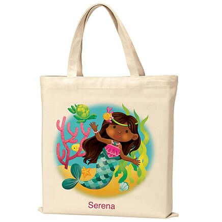 Personalized Mermaid Tote-369512