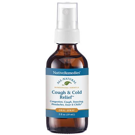 NativeRemedies® Cough & Cold Relief Oral Spray-369549