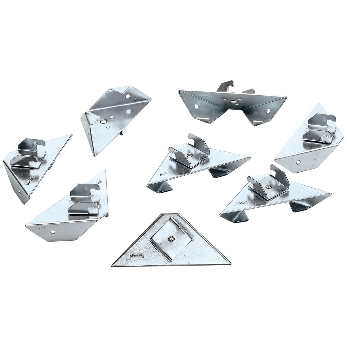 Instant Up Curtain Rod Holders Set of 8-369583