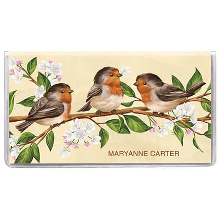Personalized 2 Year Planner Spring Time Birds-369592