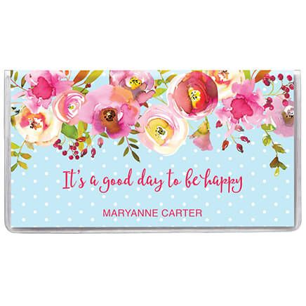 Personalized 2 Year Planner Floral Dots-369600