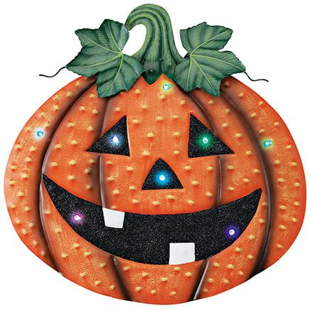 Color-Change Jack-O-Lantern Hanger by Fox River™ Creations-369633
