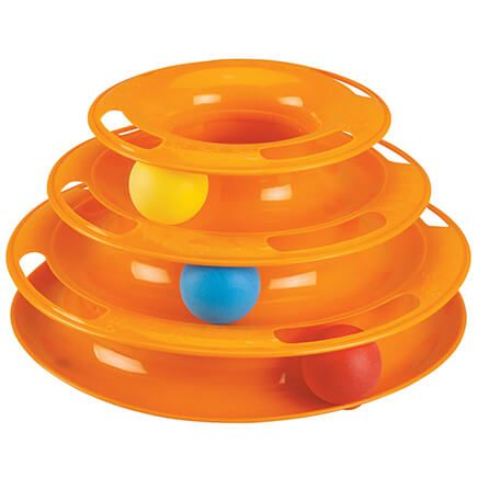 3-Tier Track Cat Toy-369638