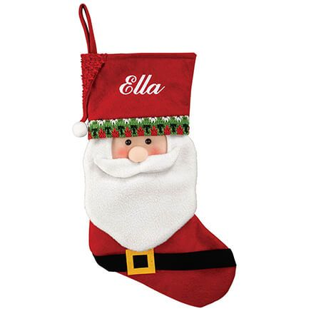 Personalized Santa Stocking by Holiday Peak™-369640