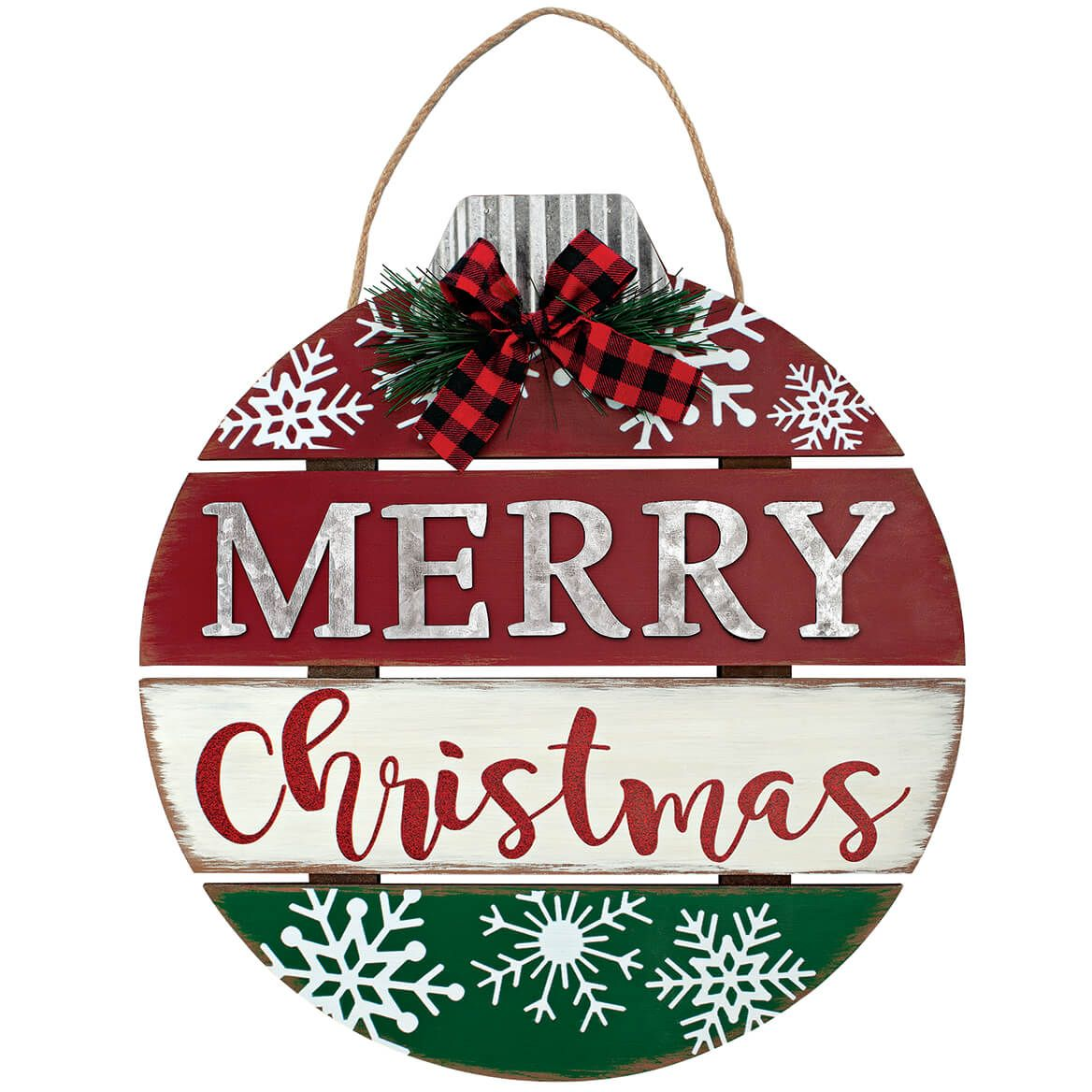 Christmas Ornament Wall Hanging by Holiday Peak™-369643