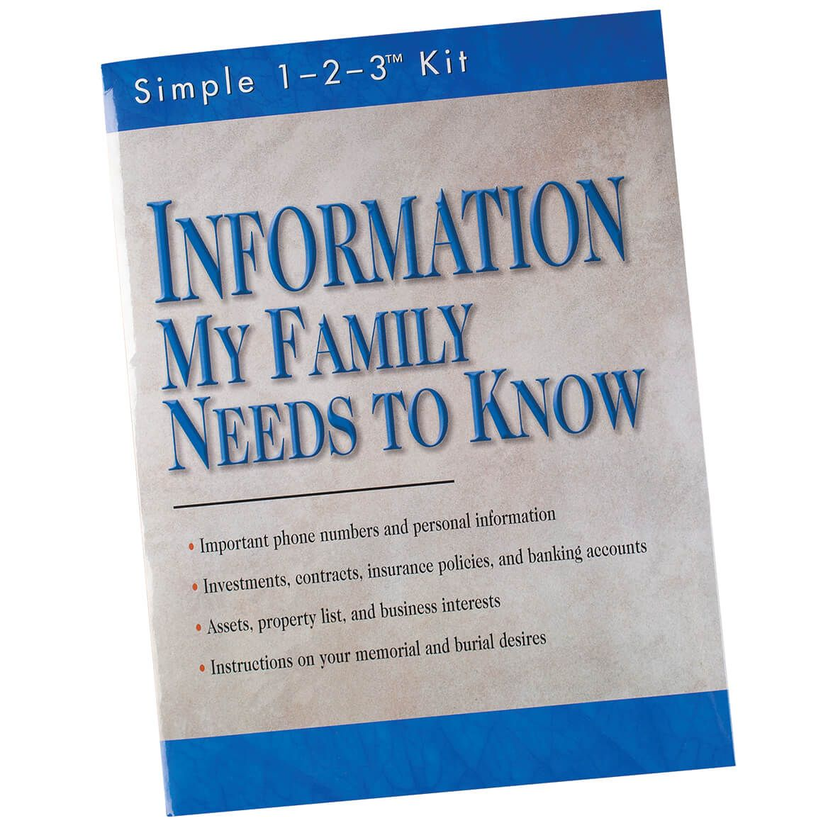 """""""Information My Family Needs to Know""""-369653"""