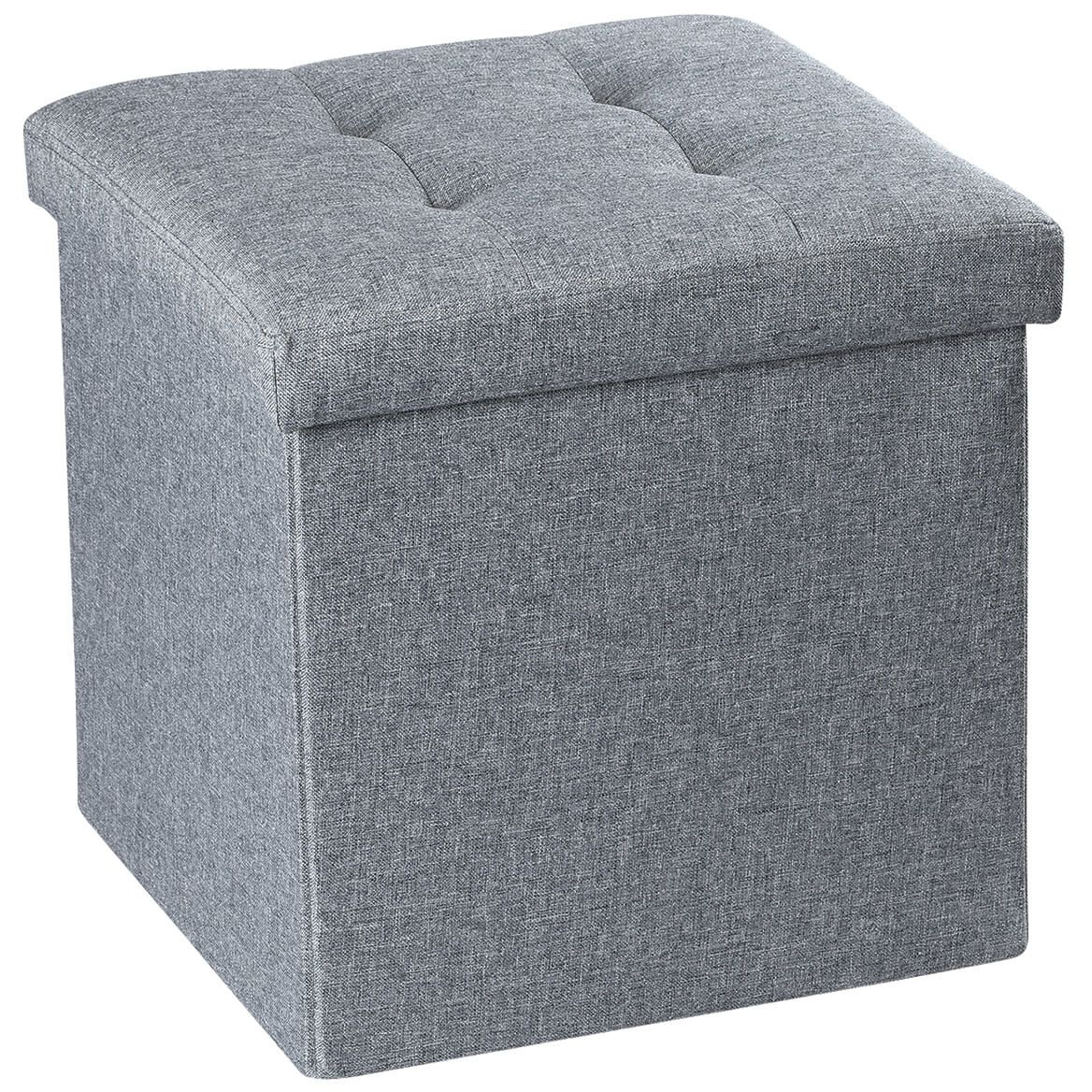 Small Folding Storage Ottoman-369654