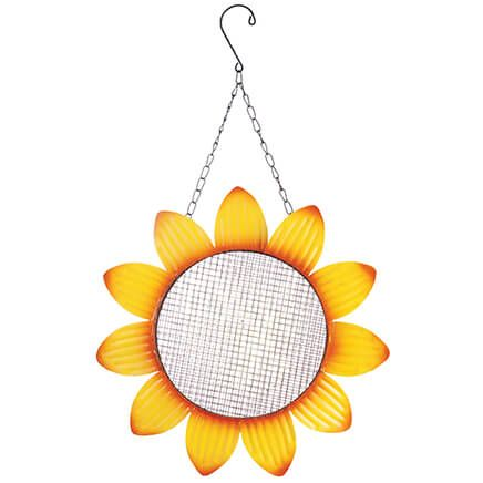 Metal Sunflower Bird Feeder by Fox River™ Creations-370352