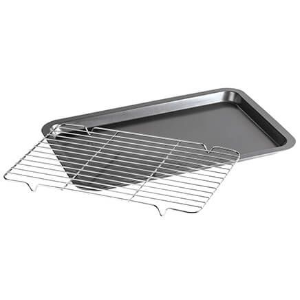 All-in-One Baking Sheet and Stainless Rack by Chef's Pride™-370370