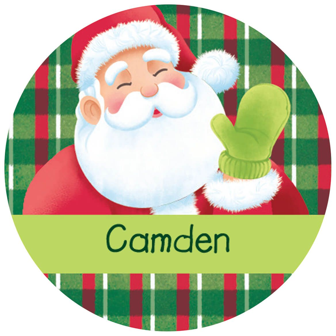 Personalized Children's Christmas Stickers, Set of 240-370377