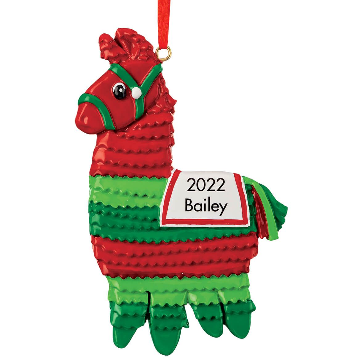 Personalized Christmas Pinata Ornament-370401
