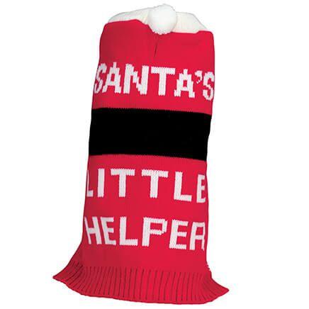 Santa's Little Helper Dog Sweater-370414