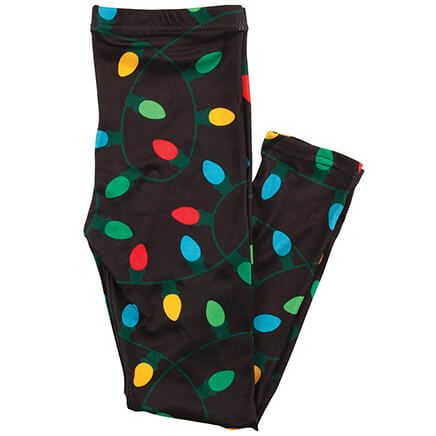 Children's Holiday Lights Leggings-370427
