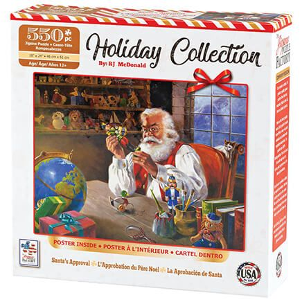 Holiday Collection Santa's Approval Puzzle, 550 Pieces-370478