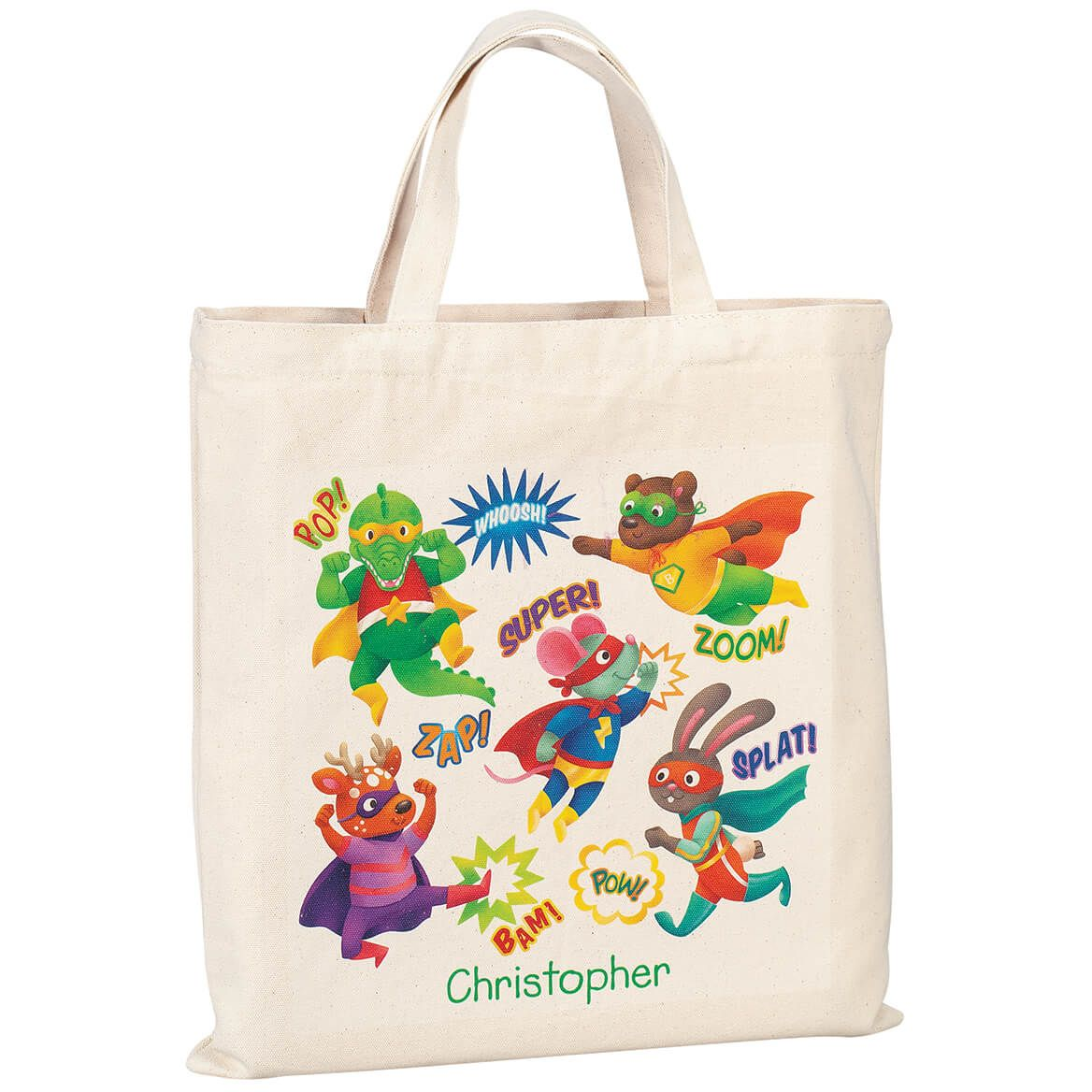 Personalized Children's Superheroes Tote-370499