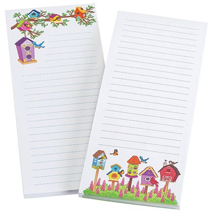Bird House Note Pads, Set of 2-370635