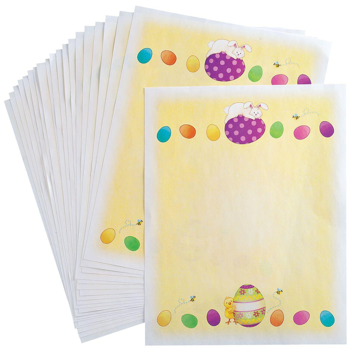 Children's Easter Stationery Sheets, Set of 20-370647