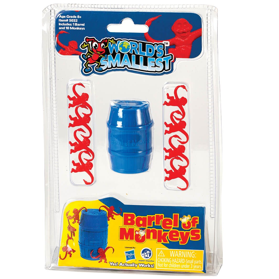 World's Smallest™ Barrel of Monkeys-370653