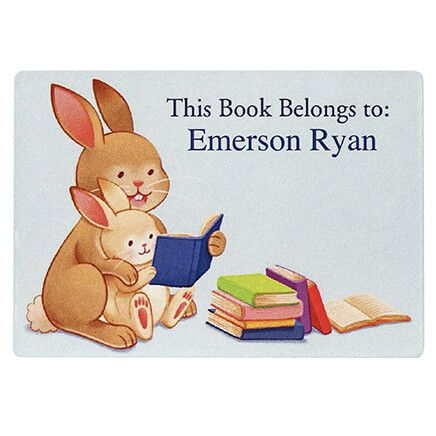 Personalized Childrens Book Plates, Set of 30-370666