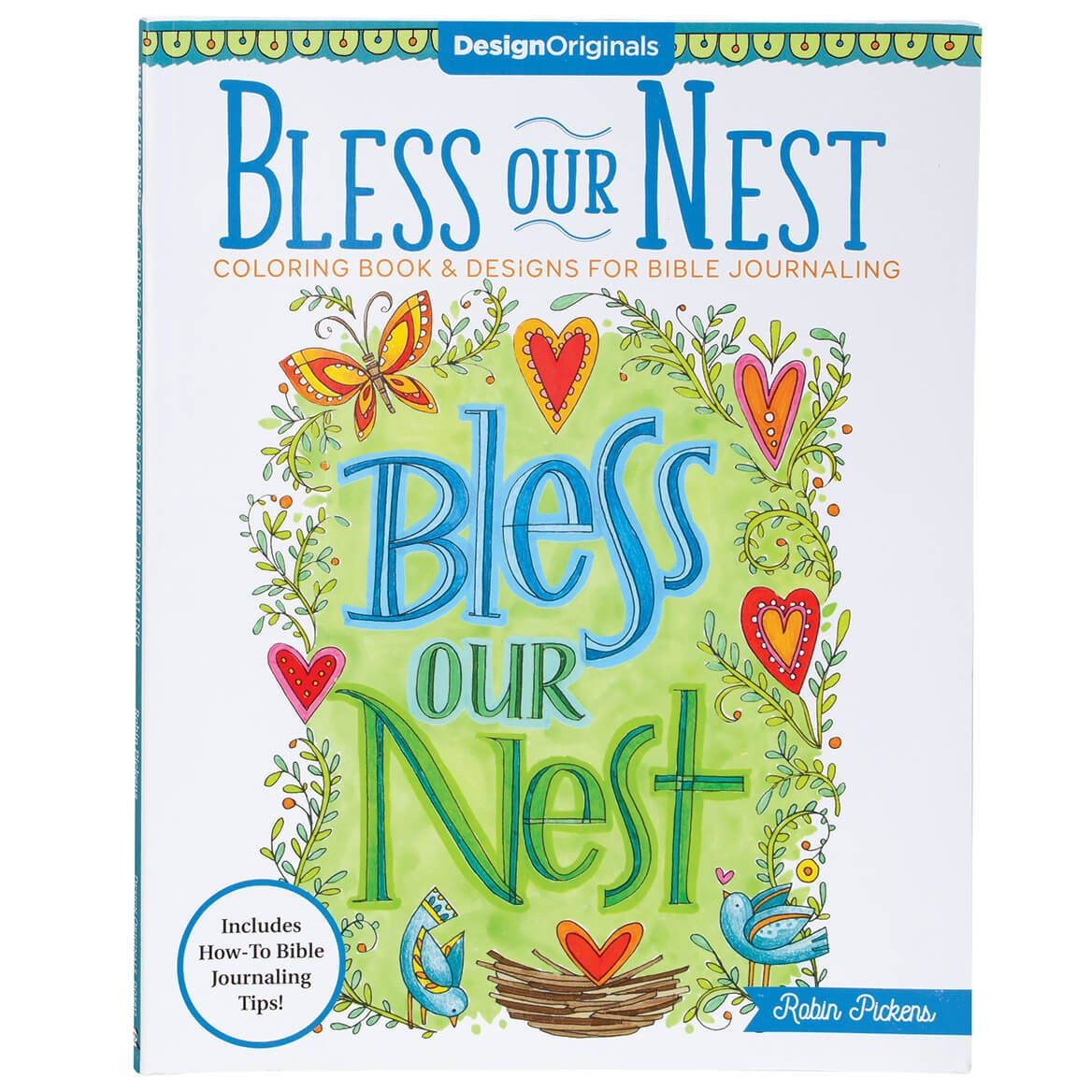 Bless Our Nest Coloring Book & Designs for Bible Journaling-370718