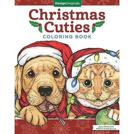 Christmas Cuties Coloring Book-370721