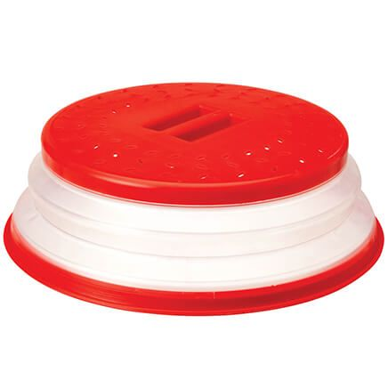Collapsible Microwave Safe Cover by Chefs Pride-370764