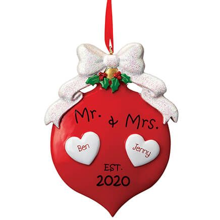Personalized Mr. & Mrs. 2020 Ornament-370770