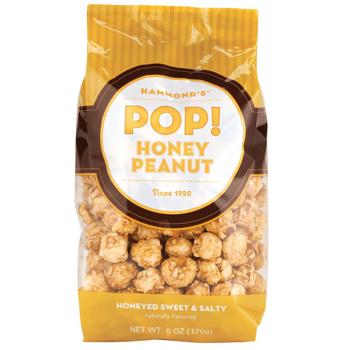 Hammonds® POP! Honey Peanut Popcorn, 6oz.-370783