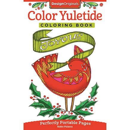 Color Yuletide Coloring Book-370926