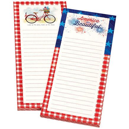 Patriotic Note Pads, Set of 2-370930