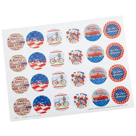 Patriotic Seals, Set of 48-370931