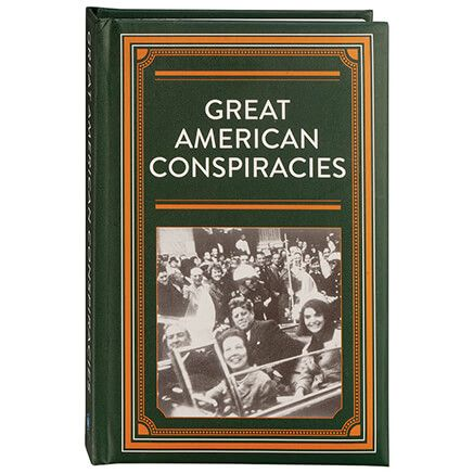 Great American Conspiracies Hardcover Book 272 Pages-370950