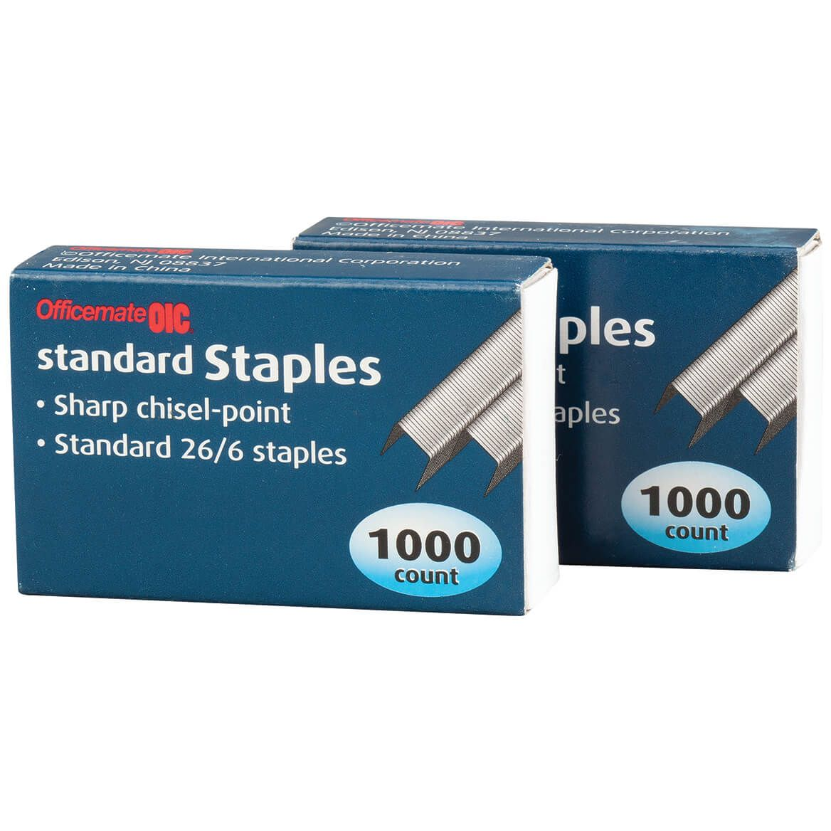 Officemate® OIC® Standard Staples, Set of 2000-371045