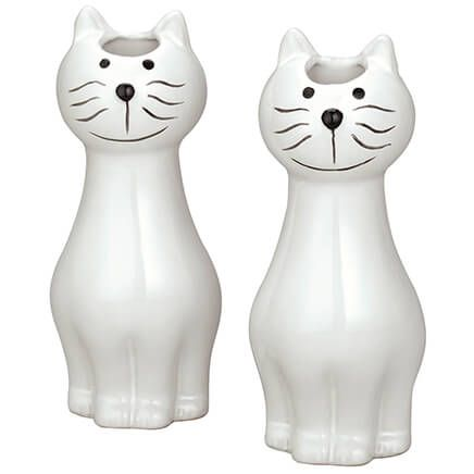 Ceramic Cat Natural Humidifier, Set of 2-371063