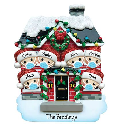 Personalized Covid Family Ornament-371154