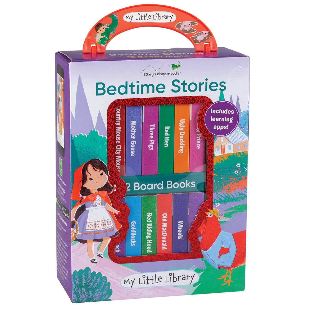 """My Little Library """"Bedtime Stories"""" Box, Set of 12-371213"""