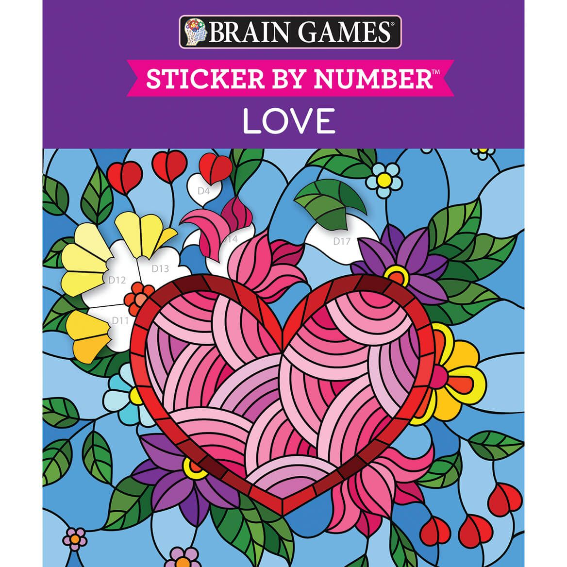 Brain Games® Sticker By Number Faith Books-371338