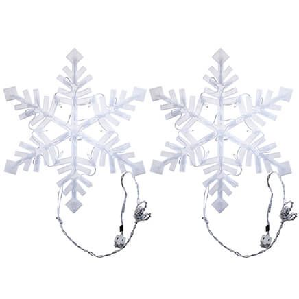 Lighted Snowflakes, Set of 2-371414