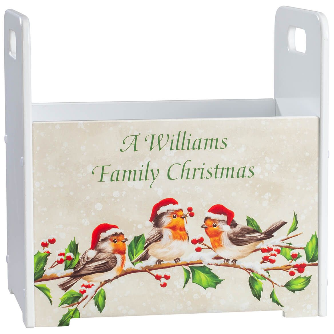 Personalized Bird with Hats Tall Caddy-371427