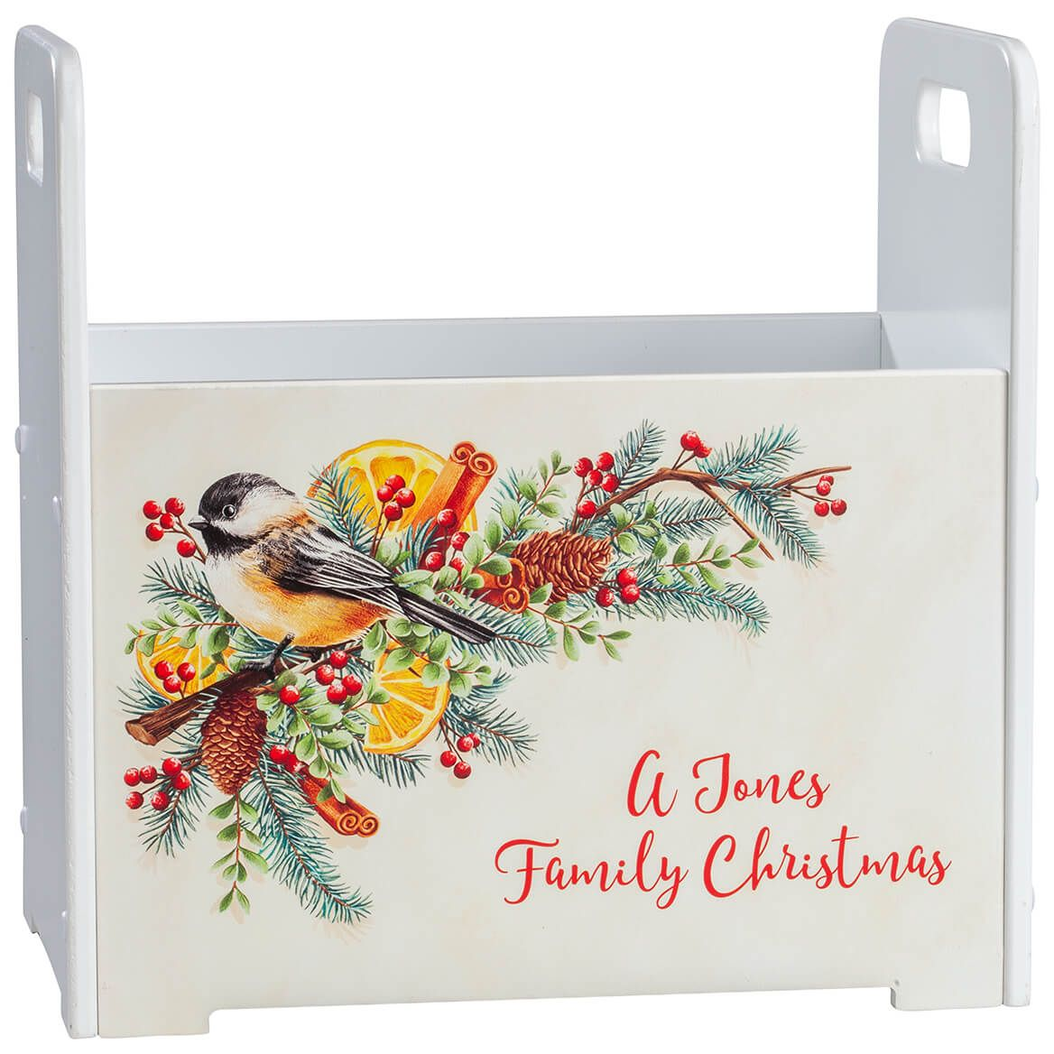 Personalized Christmas Spice Tall Caddy-371428