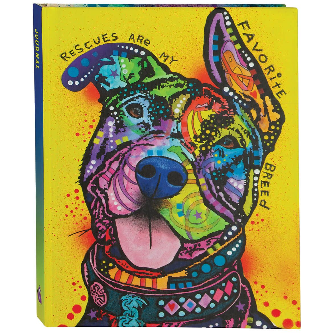 """Dean Russo """"Rescues Are My Favorite Breed"""" Journal-371526"""