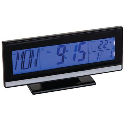 Large Easy Read LCD Multifunction Alarm Clock-371544