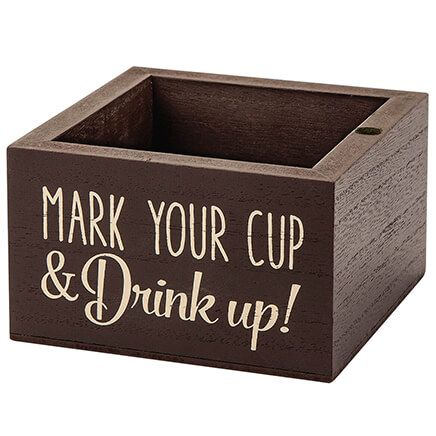 """Drink Up"" Plastic Cup Holder-371635"