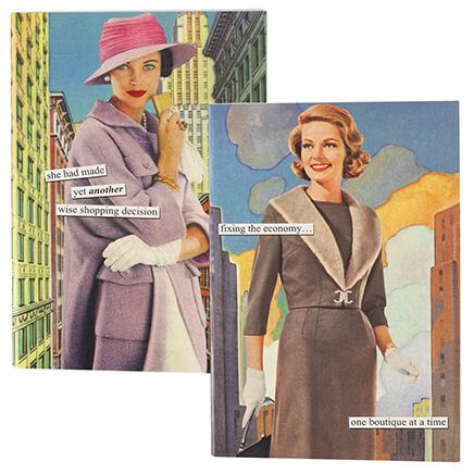 Anne Taintor 4x6 Notebook, Set of 2-371666