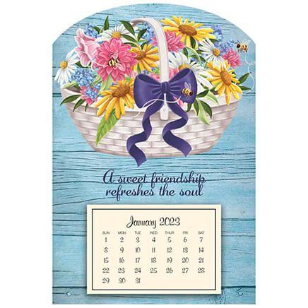 Basket of Flowers Mini-Mag-371788
